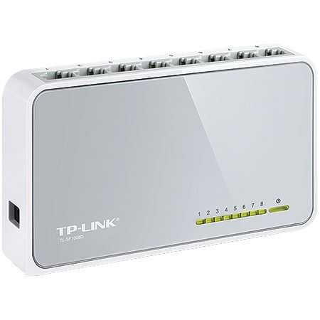 Switch TP-LINK 08 Portas 10/100 TL-SF1008D BR