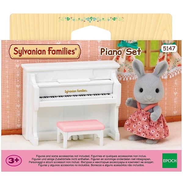 Sylvanian Families Conjunto de Piano EPOCH Magia 5147