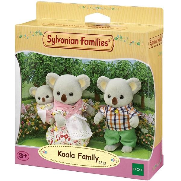 Sylvanian Families Familia dos Coalas EPOCH Magia 5310
