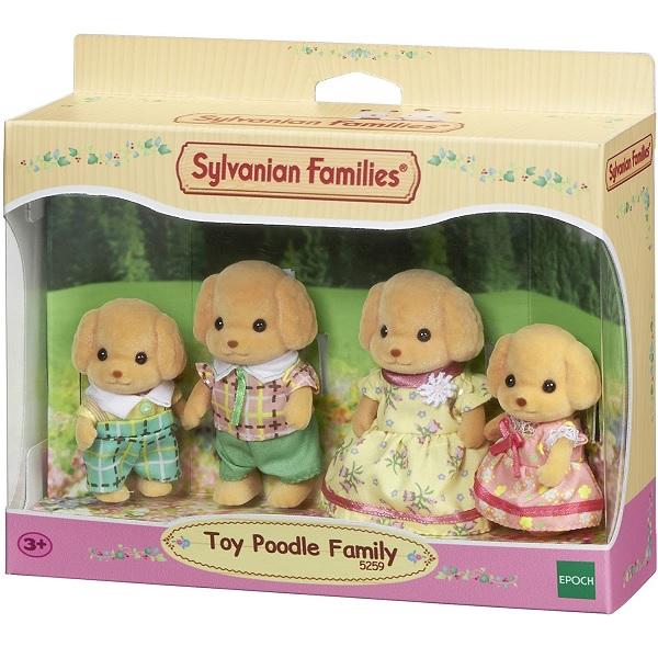 Sylvanian Families Familia dos Poodles TOYS EPOCH Magia 5259