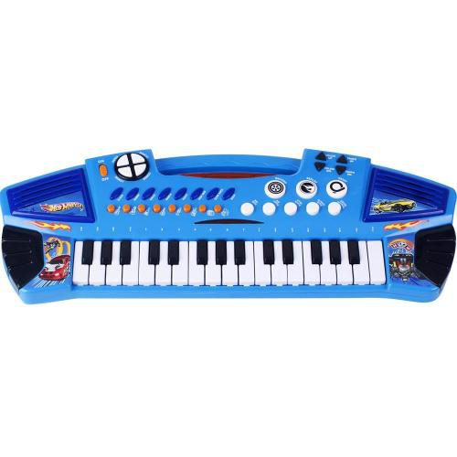Teclado Infantil Grande HOT Wheels FUN 7204-3