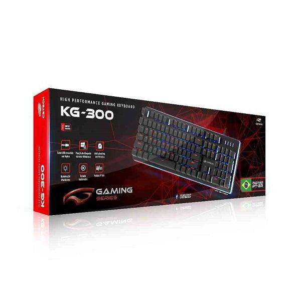 Teclado USB Gamer KG-300BK C3 TECH