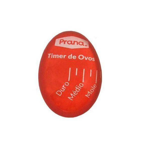 Timer para OVOS Vermelho Prana TVK9198