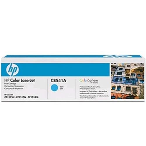 Toner HP CB541AB Laser Ciano (CP1215/1515)