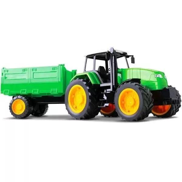 Trator Carreta Verde Roma 0365