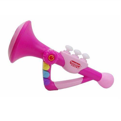 Trombeta POP Music Intellect TOYS Rosa SD8615