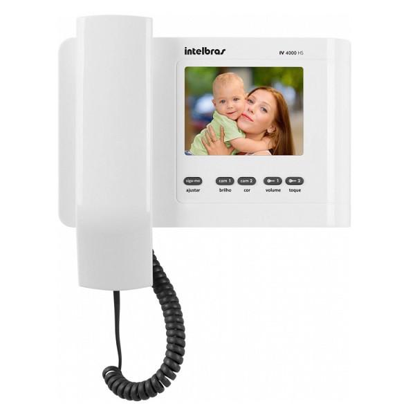 Video Porteiro IV 4010 HS Branco Intelbras - 4520020
