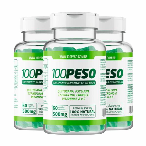 100 Peso - Promoção 3 Unidades - Vitabe