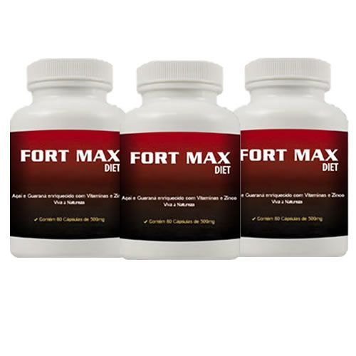 Fort Max Diet - Promoção 3 Unidades