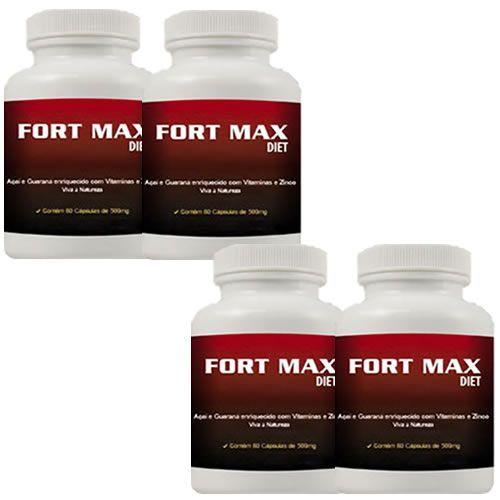 Fort Max Diet - Promoção 4 Unidades