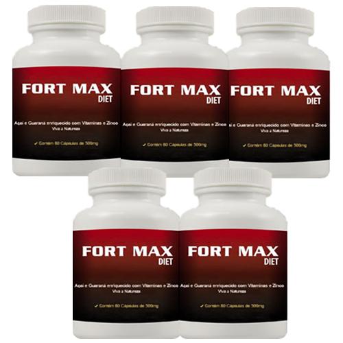 Fort Max Diet - Promoção 5 Unidades
