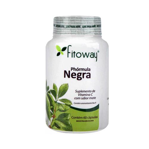 Phórmula Negra (Pholia Negra) 500mg - 60 Cápsulas - Fitoway