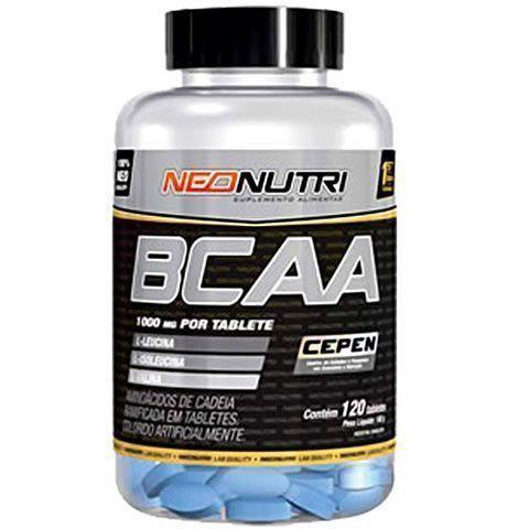 BCAA 1000mg - 120 Tabletes - NeoNutri
