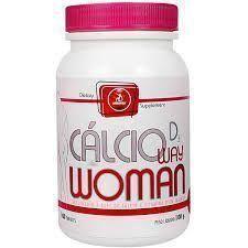 Cálcio Woman D3 - 100 Tabletes - MidWay