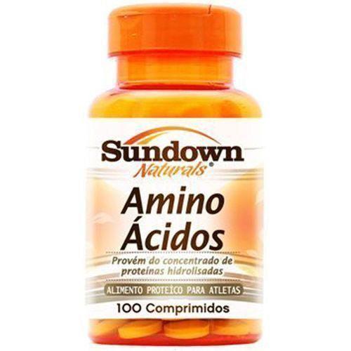 Amino Ácidos - 100 Comprimidos - Sundown