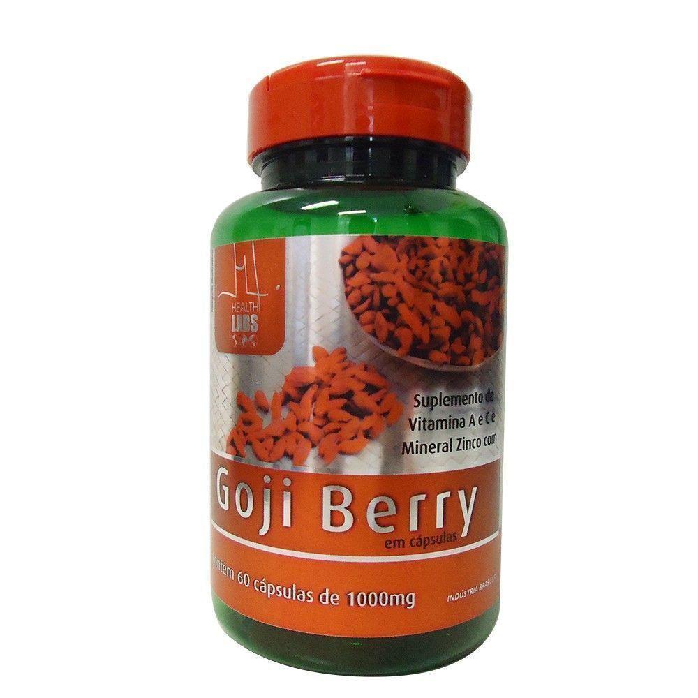 Goji Berry - 60 Cápsulas - Health Labs
