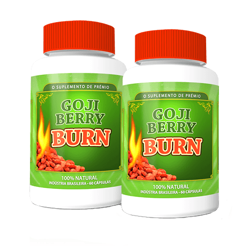 Goji Berry Burn - Promoção 2 Unidades