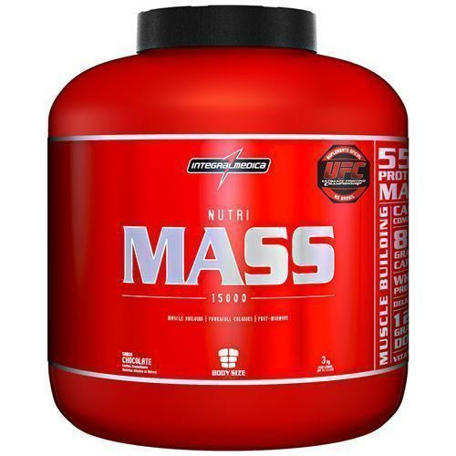 Nutri Mass 15000 - 3Kg- Body Size - IntegralMedica