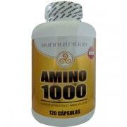 Amino 1000 - 120 Cápsulas - Sunnutrition Sundown