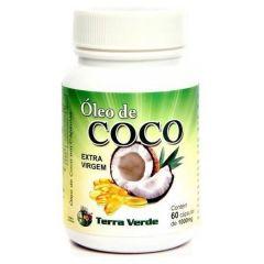 Óleo de Coco - 60 Cápsulas - Terra Verde