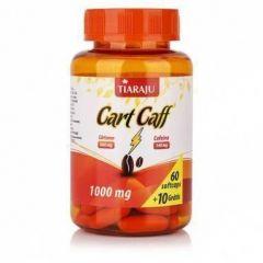 Cart Caff (Óleo de Cártamo + Cafeína)  - 60 + 10 Cápsulas - Tiaraju