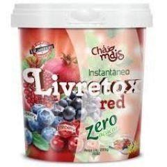 Livretox Red Instantâneo Zero Açúcar - 200g - Chá Mais