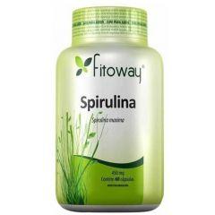 Spirulina - 60 Cápsulas - Fitoway