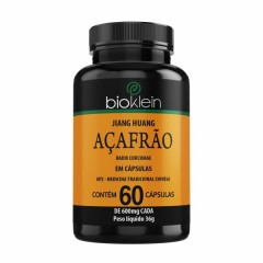 Açafrão - 60 Cápsulas - Bioklein