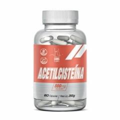 Acetilcisteína - 60 Cápsulas - Health Labs