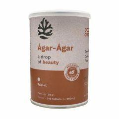 Ágar-Ágar - 240 Tabletes - Ocean Drop
