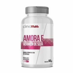 Amora e Gérmen de Soja - 100 Cápsulas - ClinicMais