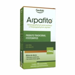 Arpafito (Garra do Diabo) - 30 Comprimidos - Geolab