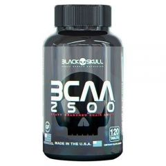 BCAA 2500 - 120 Cápsulas - Black Skull