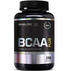 BCAA Plus - 240 Cápsulas - Probiótica