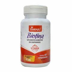 Biotina - 60 Comprimidos - Tiaraju
