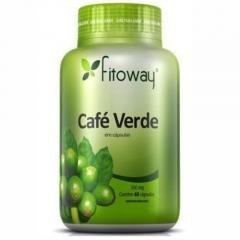 Café Verde 500mg - 60 Cápsulas - Fitoway