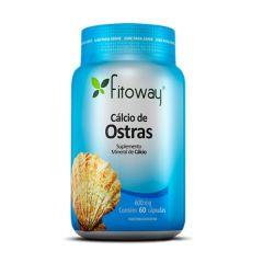 Cálcio de Ostras - 60 Cápsulas - Fitoway