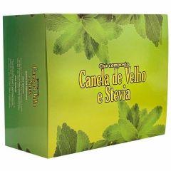 Canela de Velho e Stevia - 45g - Vida Natural