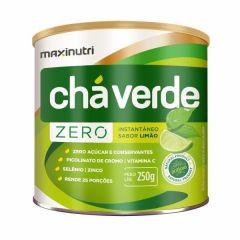 Chá Verde Zero Instantâneo - 250g - Maxinutri