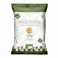 Chips de Batata Doce - 32g - Mais Pura