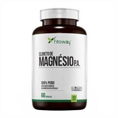 Cloreto de Magnésio P.A. - 60 Cápsulas - Fitoway Pharma