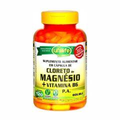 Cloreto de Magnésio P.A + Vitamina B6 - 120 Cápsulas - Unilife