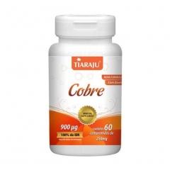 Cobre - 60 Comprimidos - Tiaraju