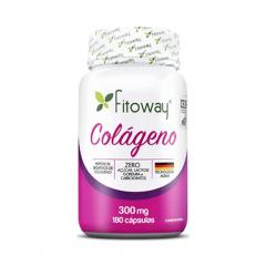 Colágeno 300mg - 180 Cápsulas - Fitoway