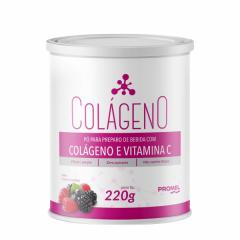 Colágeno e Vitamina C - 220g - Promel