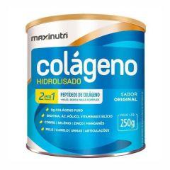 Colágeno Hidrolisado 2 em 1 - 250g - Maxinutri