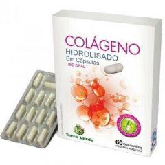 Colágeno Hidrolisado 480mg - 60 Cápsulas - Terra Verde
