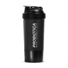 Coqueteleira Shaker c/ Divisória - 500ml - Probiótica
