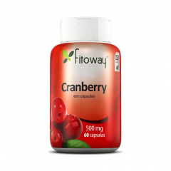 Cranberry 400mg - 60 Cápsulas - Fitoway