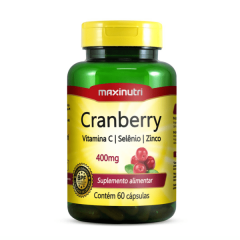 Cranberry - 60 Cápsulas - Maxinutri